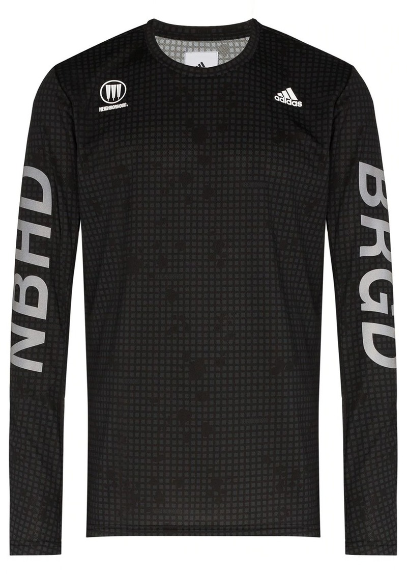 Adidas x Neighborhood long-sleeve T-shirt