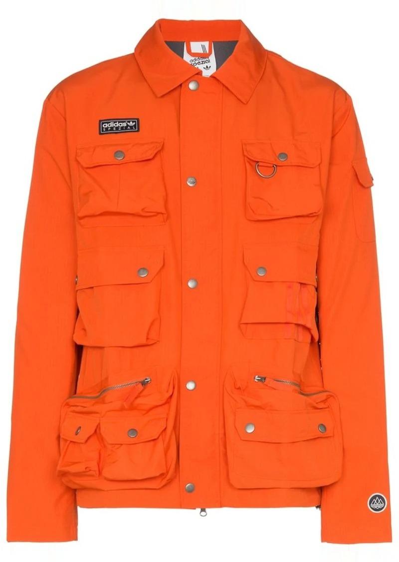 Adidas x Spezial Wardour utility pocket shirt jacket