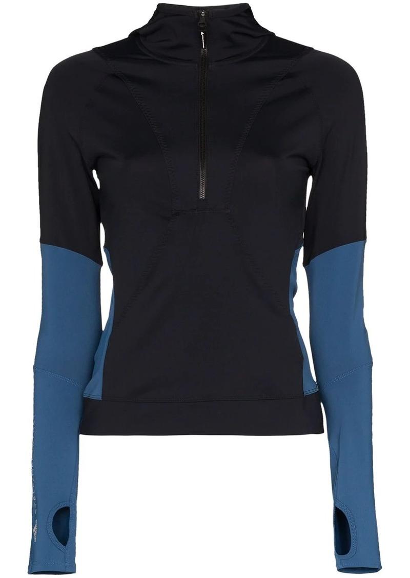 Adidas x Stella McCartney panel sports top