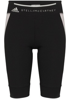 Adidas by Stella McCartney contrast panel cycling shorts