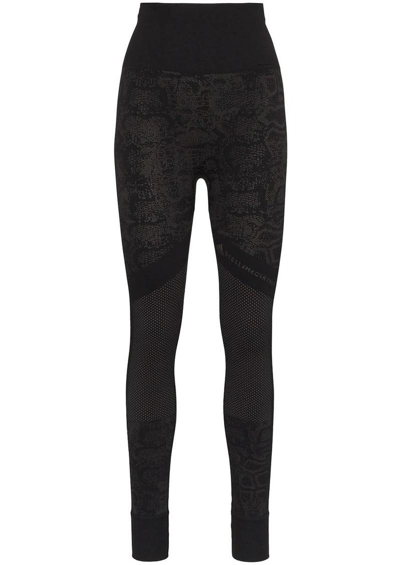Adidas x Stella McCartney snake-print leggings