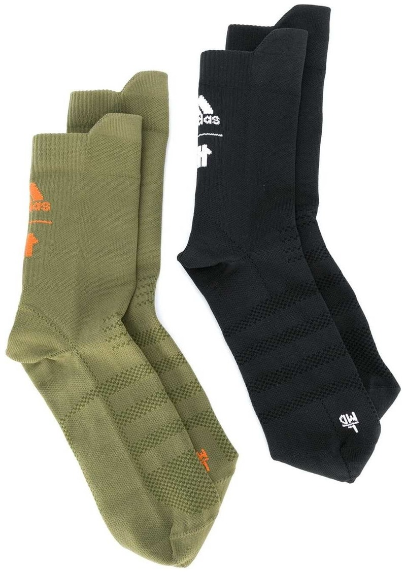 Adidas x Undefeated two-pack socks