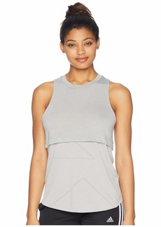 Adidas Yola Cut Out Tank Top