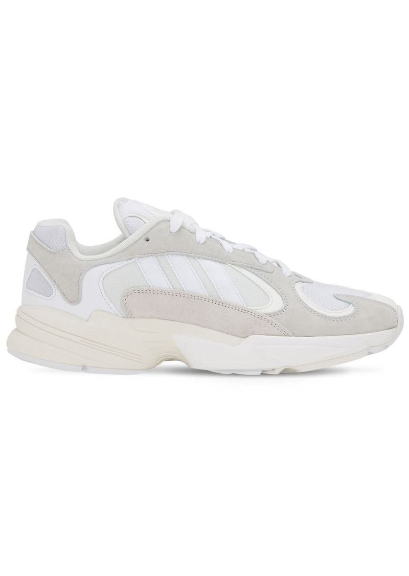 Adidas Yung-1 Suede & Fabric Sneakers