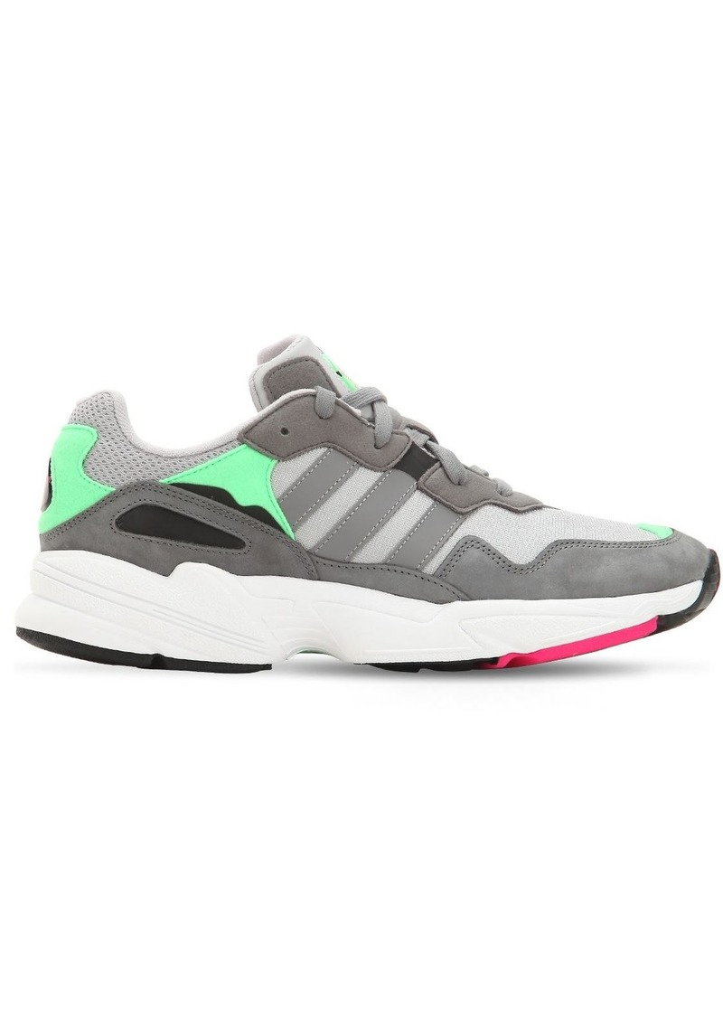 Adidas Yung-96 Leather & Mesh Sneakers