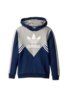 Adidas Zigzag Trefoil Hoodie (Little Kids/Big Kids)
