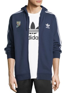 Adidas Zip-Front Hooded Track Jacket