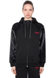 Adidas Zip Up Sweatshirt Hoodie