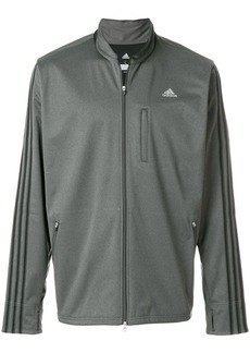 Adidas zipped track jacket