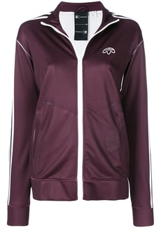 Adidas zipped track jacket