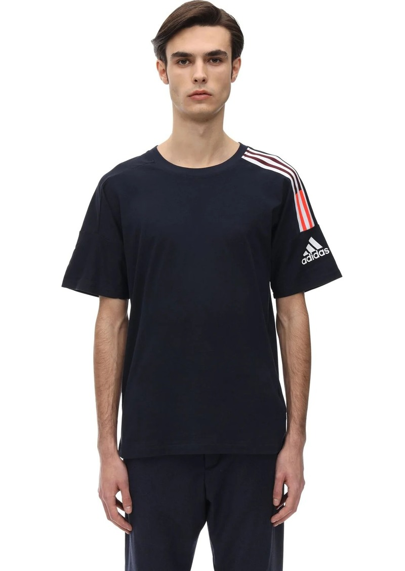 Adidas Z.n.e. Cotton Jersey T-shirt