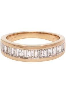 Adina Reyter Gold Large Heirloom Baguette Band Ring