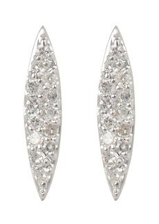 Adina Reyter Pavé Marquise Stud Earrings