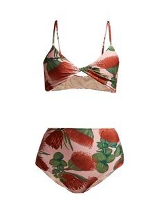 Adriana Degreas Fiore floral-print bikini