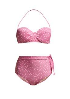 Adriana Degreas Mille Puncti high-waist bikini