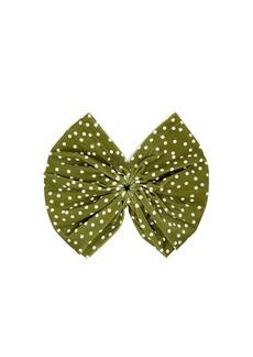 Adriana Degreas Mille Punti polka-dot print headband