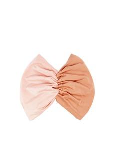Adriana Degreas Porto panelled-satin headband