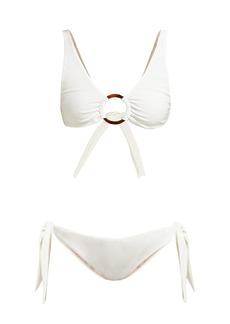 Adriana Degreas Ruched hoop bikini