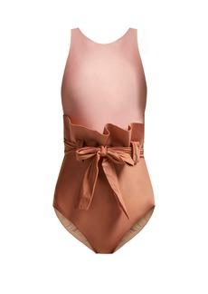 Adriana Degreas Ruffle-waist swimsuit