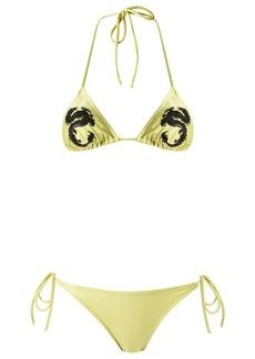 Adriana Degreas embroidered bikini set