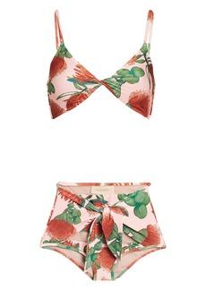 Adriana Degreas Fiore High-Rise Bikini Set