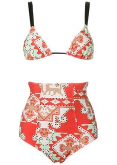 Adriana Degreas hot pants bikini set