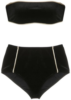Adriana Degreas hot pants velvet bikini set