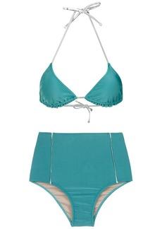 Adriana Degreas metallic trimming bikini set
