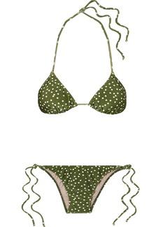 Adriana Degreas Mille Punti Polka-dot Bikini