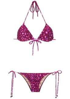 Adriana Degreas Pomegranate bikini set