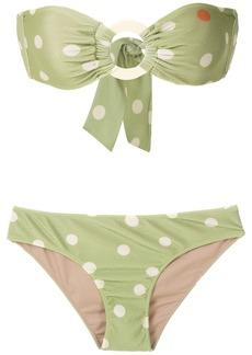Adriana Degreas printed strapless bikini set