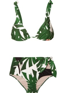 Adriana Degreas Printed Triangle Bikini