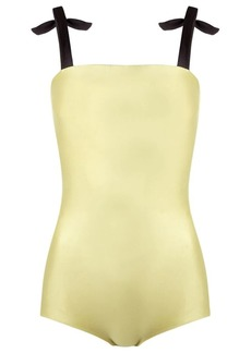Adriana Degreas square neckline swimsuit