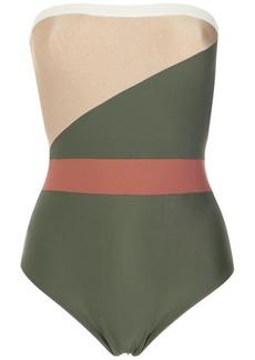 Adriana Degreas strapless swimsuit