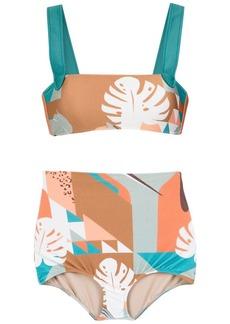 Adriana Degreas Tropiques printed bikini set