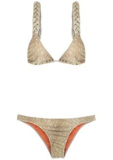 Adriana Degreas velvet bikini set