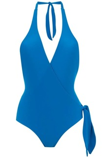 Adriana Degreas wrap style swimsuit