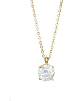 Adriana Orsini 18K Goldplated Sterling Silver Round Pendant Necklace