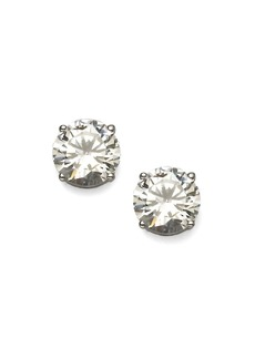 Adriana Orsini Brilliant-Cut Sterling Silver Stud Earrings