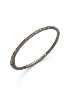 Crystal Inlay Bangle Bracelet