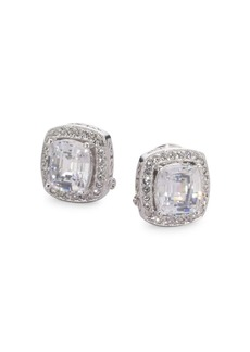 Adriana Orsini Cushion-Cut Clip-On Earrings