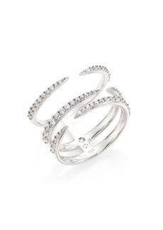 Adriana Orsini Eva Pavé Claw Ring