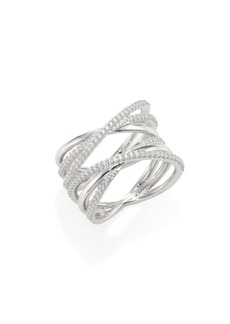 Adriana Orsini Illusion Wrap Ring
