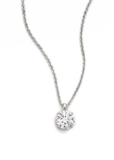 Adriana Orsini Round Pendant Necklace