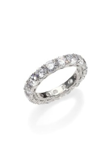 Adriana Orsini Sterling Silver Eternity Band Ring