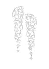 Adriana Orsini Azure Crystal Clear Shard Earrings