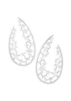 Adriana Orsini Azure Wrap Hoop Earrings