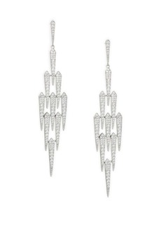 Adriana Orsini Crystal Shard Chandelier Earrings