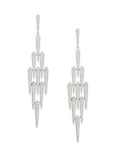 Crystal Shard Chandelier Earrings