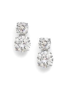 Adriana Orsini Double Stud Drop Earrings